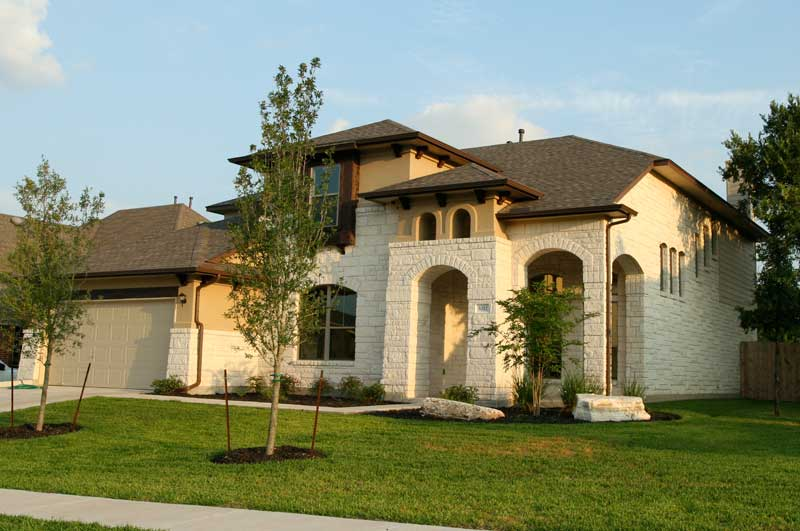 Sendero springs rrw 78681 real estate report for 2009 to for Limestone homes designs