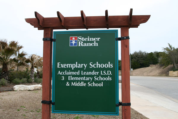 Steiner Ranch Schools are rated Exemplary