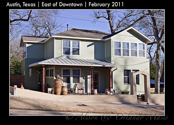 Larger newer home in East Austin