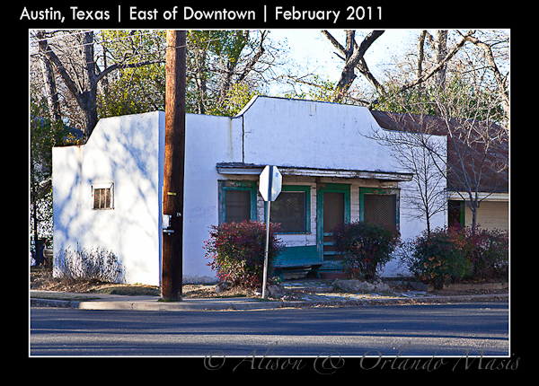 Really Old Corner Store in East Austin