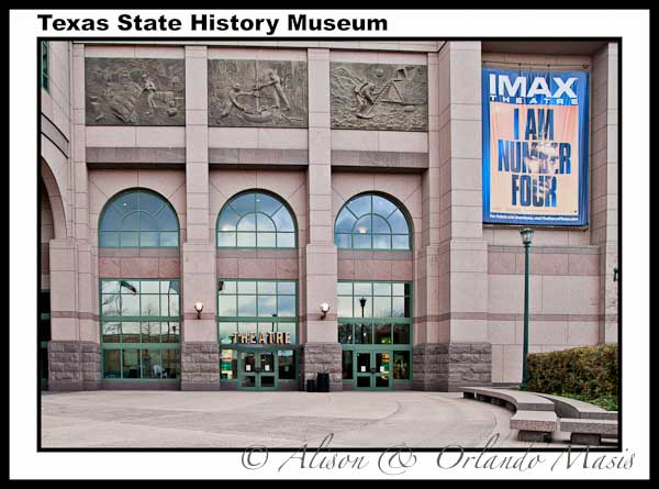 Entrance to the Texas State History Museum