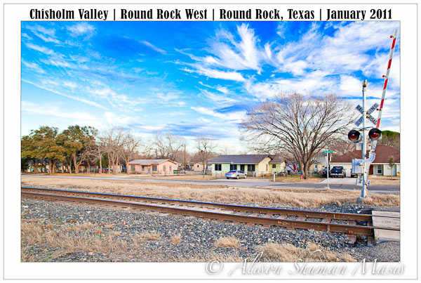 Rail Road Tracks along McNeil in Round Rock