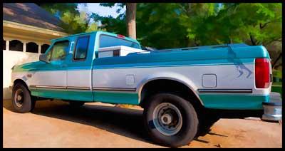 1994 F250 Truck in Austin Texas