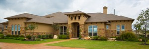 real estate photography - custom home by Giddens in Crystal Falls, Leander, TX